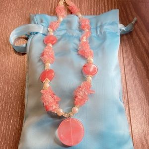 Jewelry - Rose quartz necklace